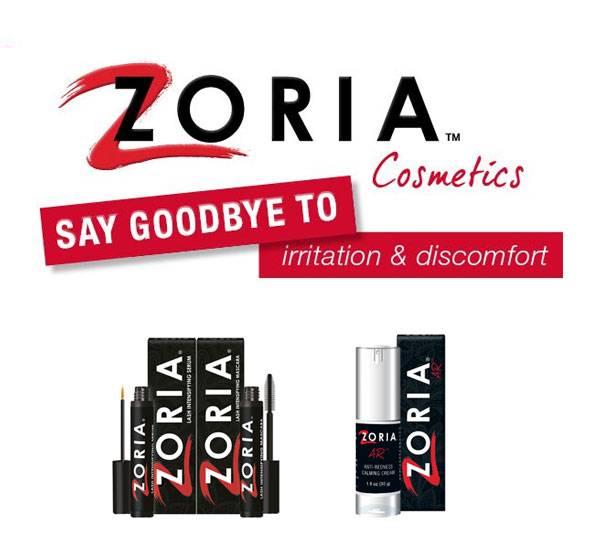 Zoria Cosmetics at TSO Optical in Texas