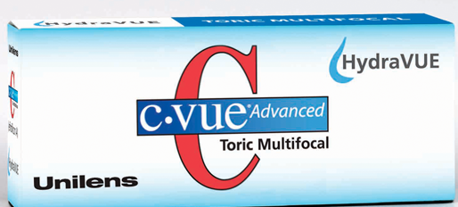 C-VUE Advanced HydraVUE Toric Multifocal in