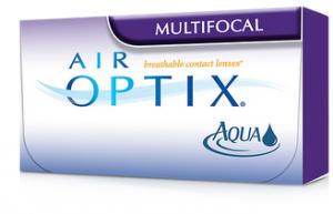 AIR OPTIX® AQUA Multifocal contact lenses