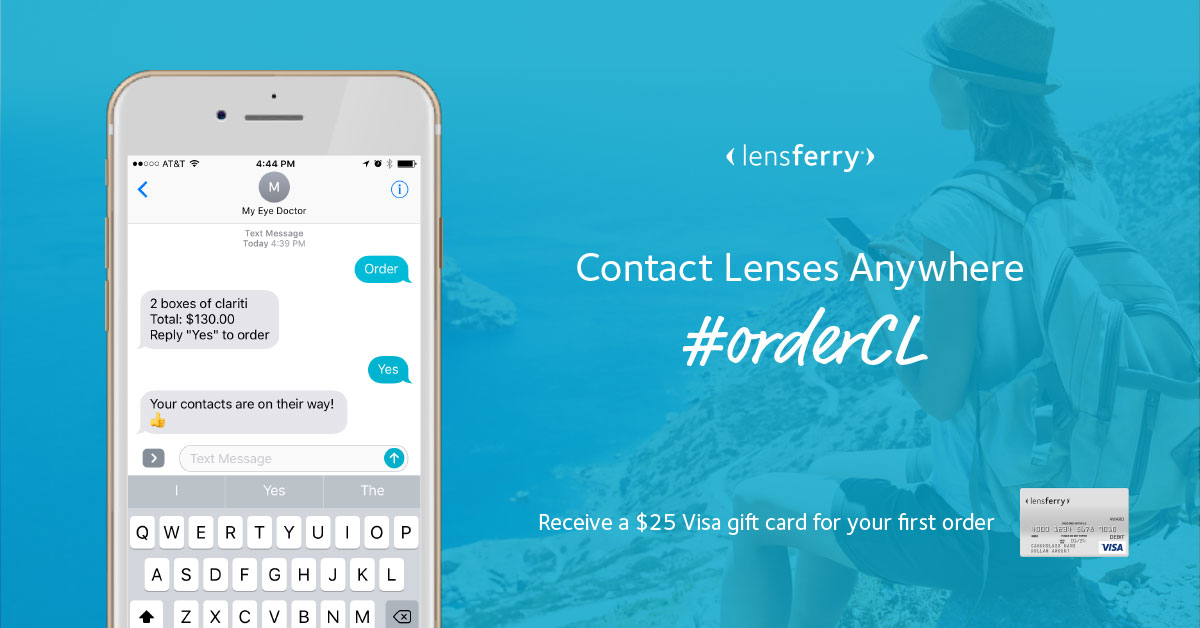 Order contact lenses with lensferry at Family Eyecare in Millersburg, Ohio