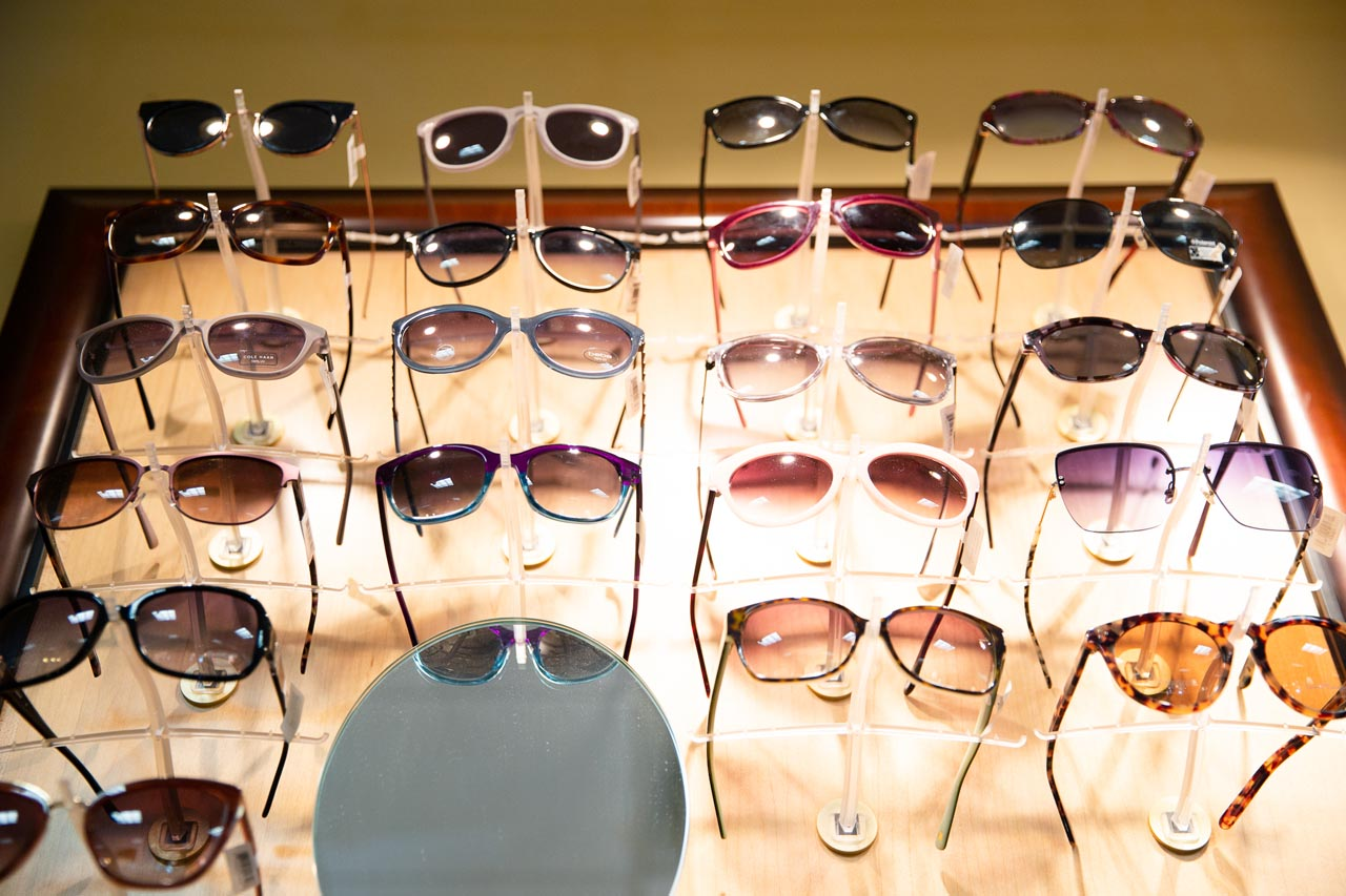 Sunglasses at Moorestown Eye Associates in Moorestown, New Jersey