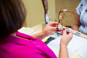 Expert Glasses Fitting at Moorestown Eye Associates in Moorestown, New Jersey