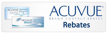 Acuvue  Rebates in Moorestown, NJ