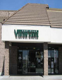 East Hills vision care office, east san jose eye doctor