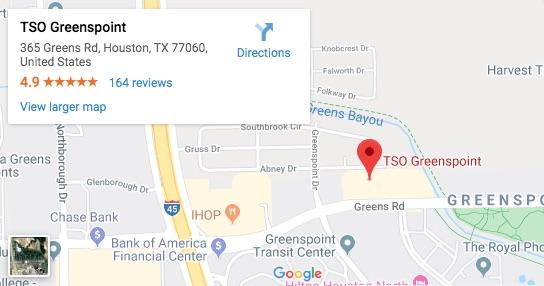 TSO Greenspoint Google Map