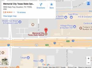 Memorial City Texas State Optical Map