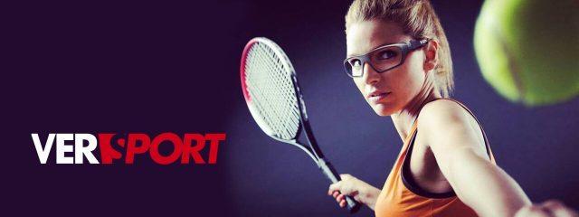 Optometrist, tennis player wearing sport glasses in Alpha, NJ