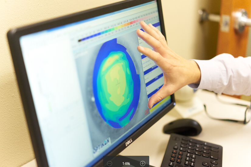 advanced technology eye care pearland