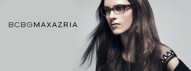 Optometrist, woman wearing BCBG MaxAzria eyeglasses in Milton, ON