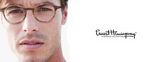 Eye doctor, man wearing Ernest Hemingway eyeglasses in Milton, ON