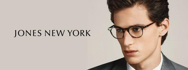 Eye doctor, man wearing Jones New York eyeglasses in Milton, ON