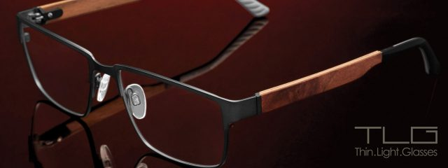 Eye doctor, pair of TLG eyeglasses in Milton, ON