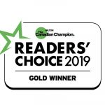 Milton Ontario's Readers Choice Gold Award for Favourite Opticial store