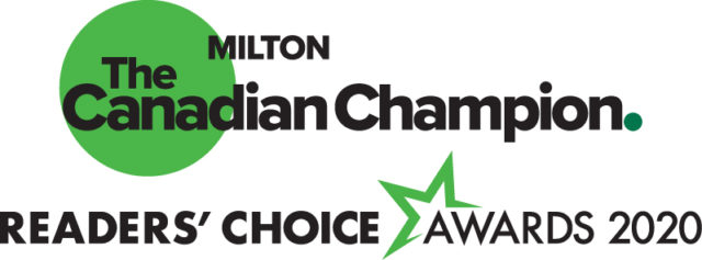 readers choice nomination for Best Optometrist in Milton, Ontario