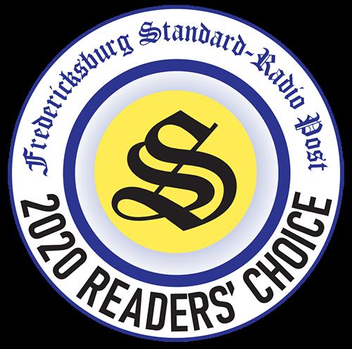 2020 readers choice winner fredericksburg