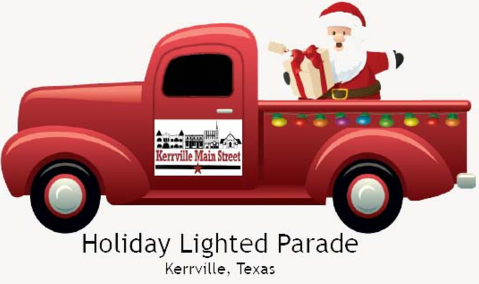 Holiday Lighted Parade image