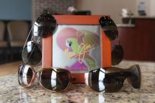 family wearing sunglasses, allen, tx