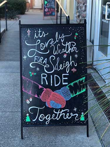 tso allen sleigh ride together