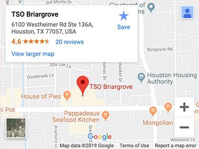 tso briargrove directions