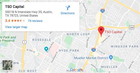 TSO Capital Google Map