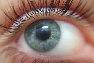 Eye doctor, woman eye closeup in Scranton, Pennsylvania