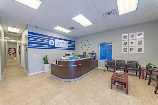 Inside our las vegas eye care clinic