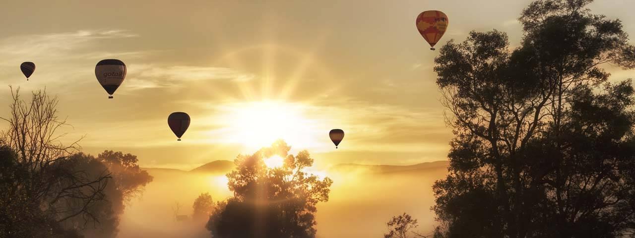 Air baloon in Seatle, WA