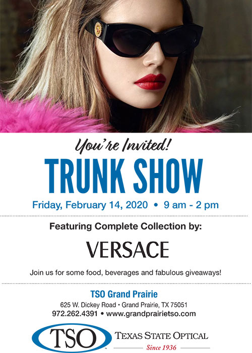 grand prairie versace show feb14