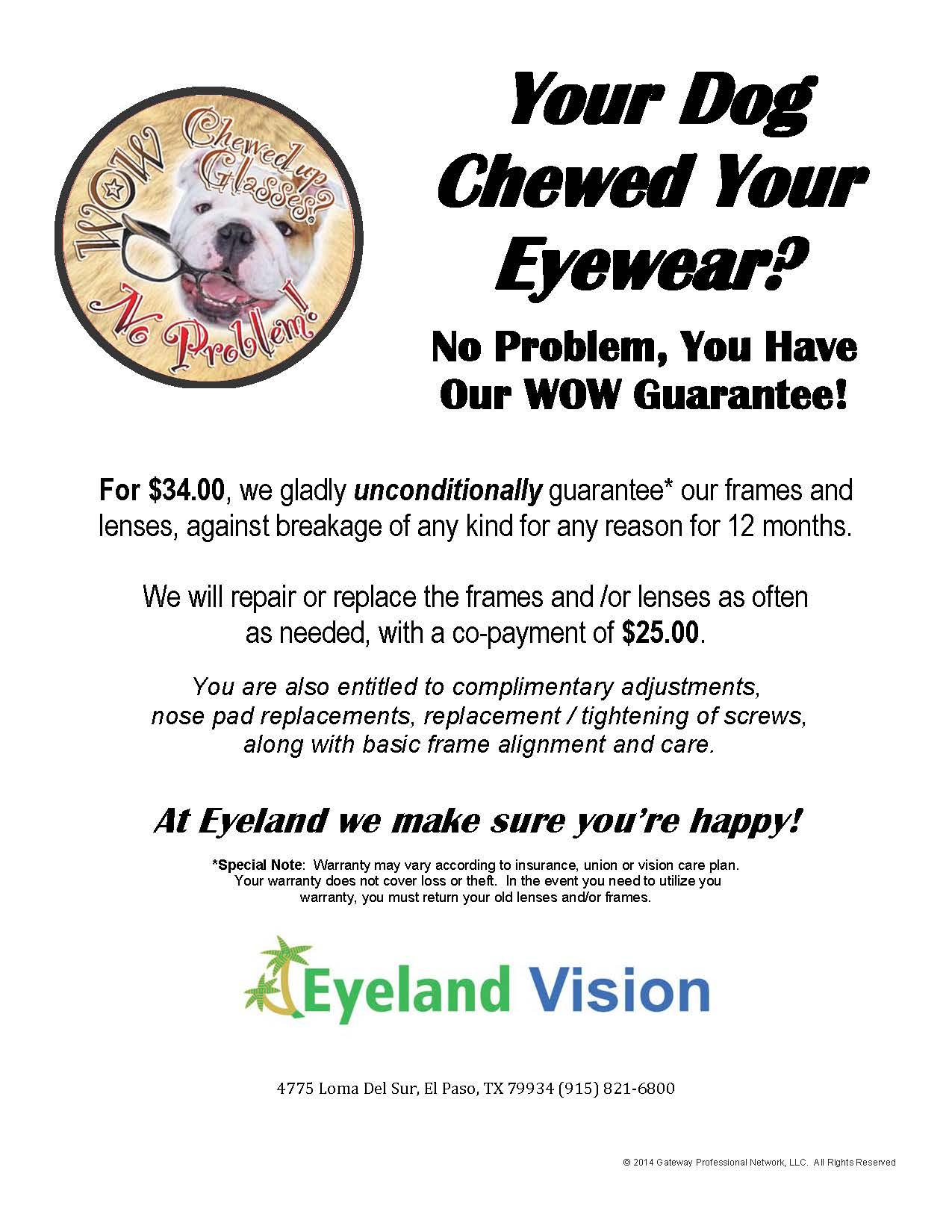 WOW Guarantee Full Pg Eyeland
