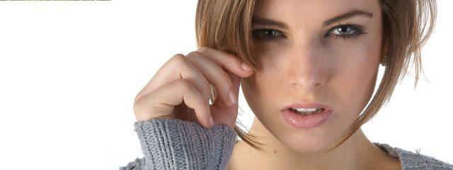 Eye doctor, woman suffering from an eye infection in El Paso, TX