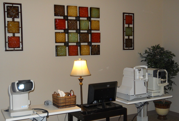 inside our magnolia eye care office