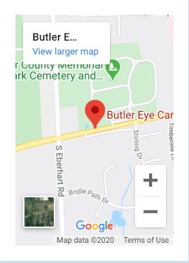Butler Map