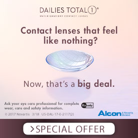 Alcon Dailies Total 1 Conact Lenses at First Eye Care Dallas