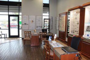 Eyeglasses stands in San Antonio, Texas