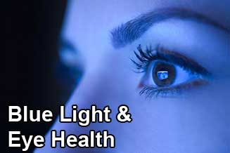 blue light eye health san antonio