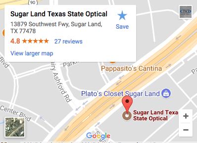 Texas State Optical Sugar Land