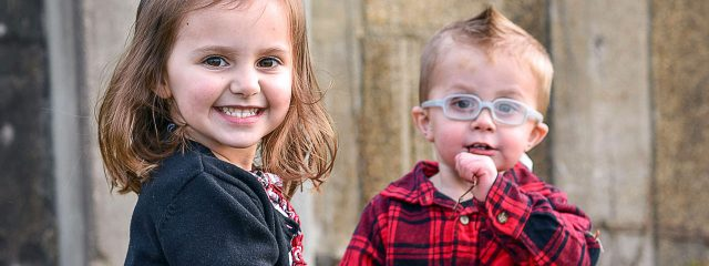 Eye care, happy toddlers in Round Rock, TX