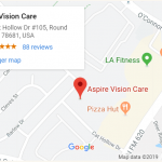 aspire vision care map