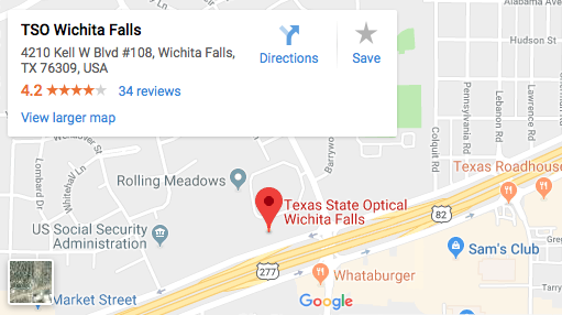 TSO Wichita Falls Map