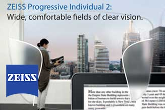 zeiss progressive individual 2 temple tx