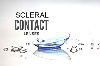 scleral contact lenses the woodlans