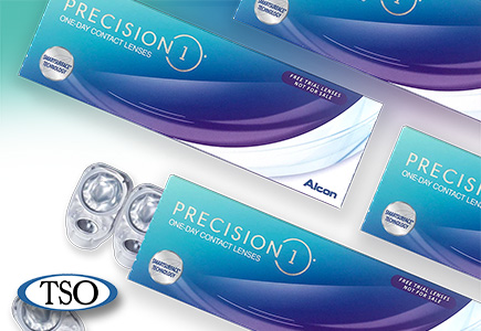 precision1 daily contact lenses