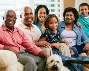 glasses family african american 300x238