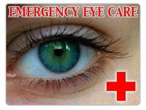 Eye Doctor, Eye Emergency