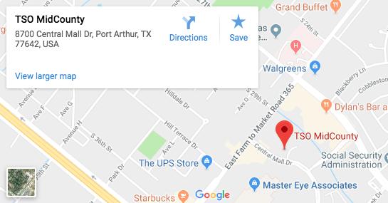 TSO MIdCounty Google Map