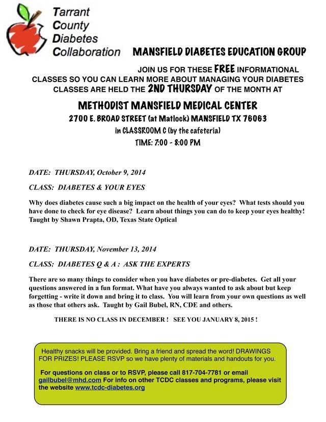 TCDC Mansfield 2014 oct nov small