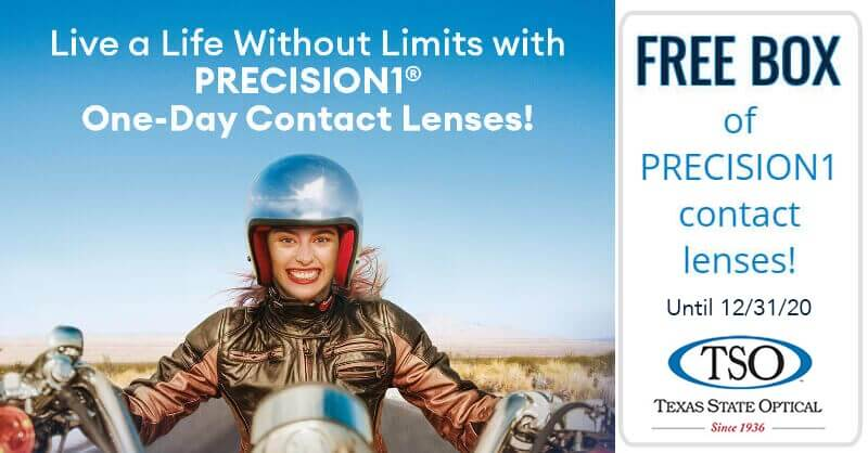 free precision1 contact lenses mansfield