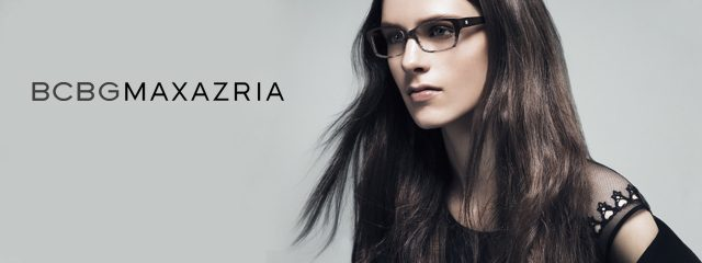 Eye doctor, woman wearing BCBGMaxAzria eyeglasses in Irving, TX