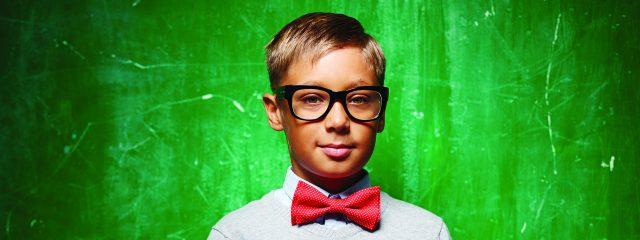 Eye care, boy wearing eyeglasses in Irving, TX