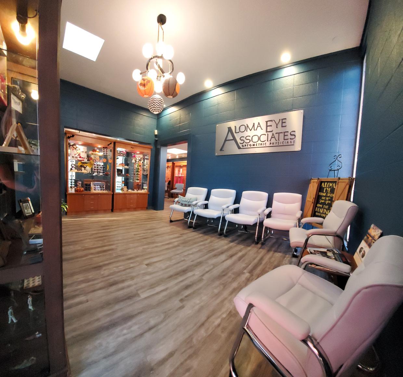 Aloma Eye Associates Exam Room